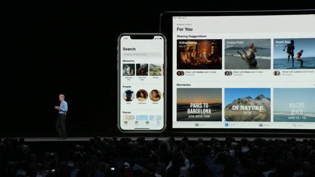iOS 12 photo aap